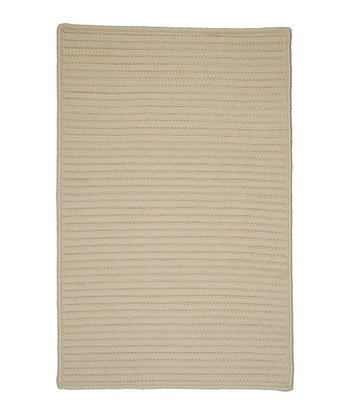 Cream Simply Home Indoor/Outdoor Rug