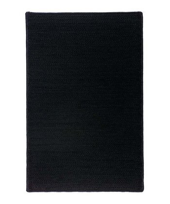 Black Simply Home Indoor/Outdoor Rug