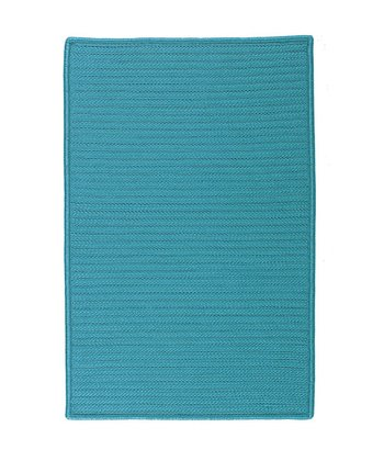 Turquoise Simply Home Indoor/Outdoor Rug