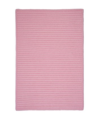 Light Pink Simply Home Indoor/Outdoor Rug