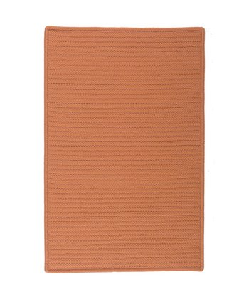Rust Simply Home Indoor/Outdoor Rug