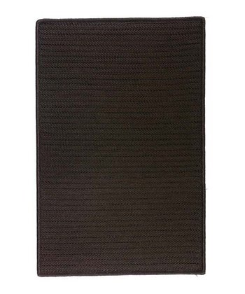 Chocolate Simply Home Indoor/Outdoor Rug
