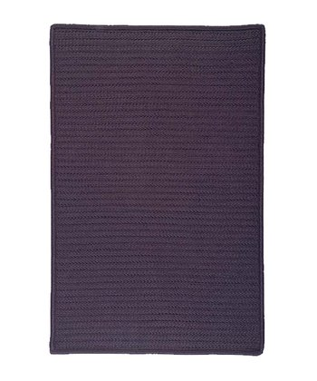 Eggplant Simply Home Indoor/Outdoor Rug