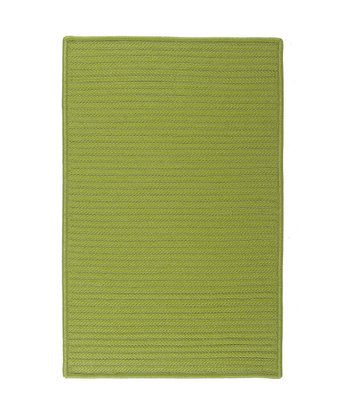 Bright Green Simply Home Indoor/Outdoor Rug