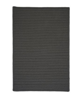 Gray Simply Home Indoor/Outdoor Rug