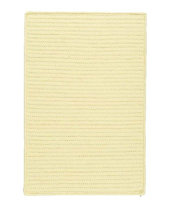 Pale Banana Simply Home Indoor/Outdoor Rug