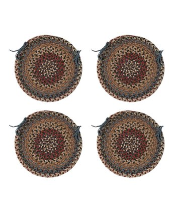 Dusk Oak Harbor Chair Pad - Set of Four