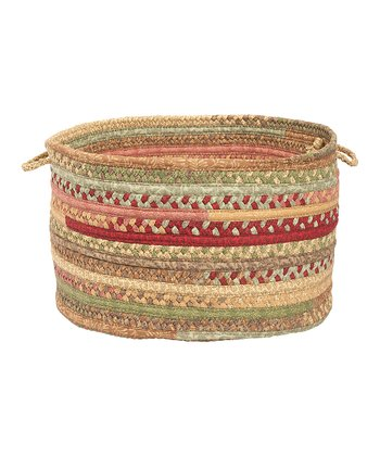 Light Parsley Olivera Utility Basket