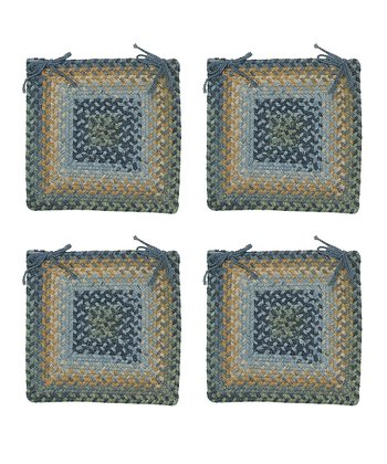 Whipple Blue Ridgevale Chair Pad - Set of Four