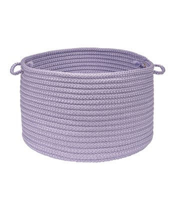Bright Stripe Amethyst Utility Basket