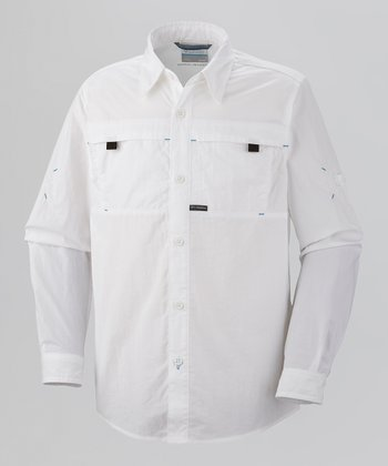 White Silver Ridge Button-Up - Toddler