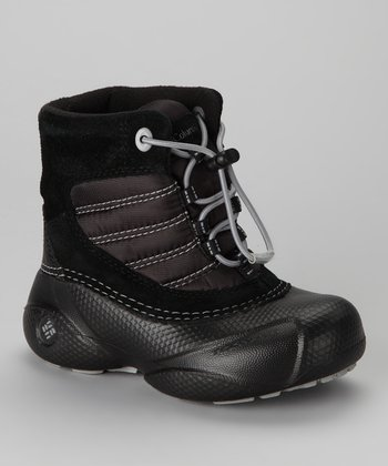 Black & Light Gray Rope Tow Boot