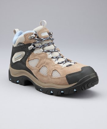 British Tan & Bahama Blue Packus Ridge All-Terrain Shoe - Women