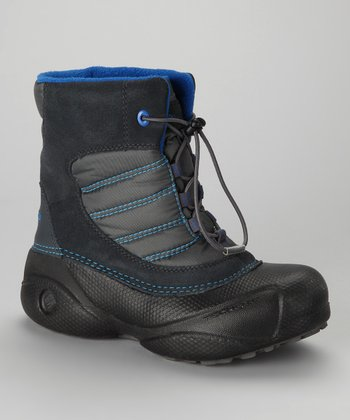 Black & Azul Rope Tow Boot