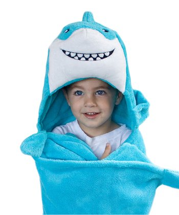 Seymour the Shark Huggable Hooded Blanket