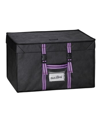The Compactor Black & Purple Family Range Rigid Case