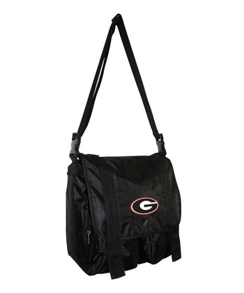 Georgia Bulldogs Messenger Diaper Bag