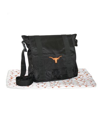 Texas Longhorns Messenger Diaper Bag