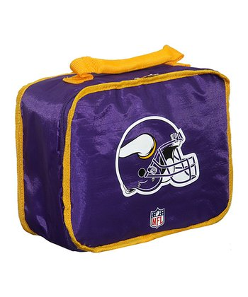 Purple Minnesota Vikings Insulated Lunch Box