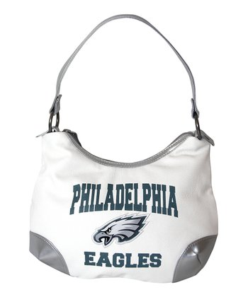 White Philadelphia Eagles Huddle Purse