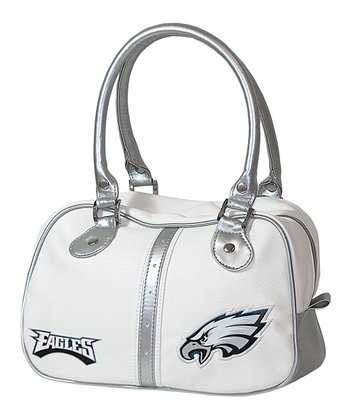 White Philadelphia Eagles Ethel Purse
