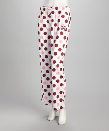 Concepts Sports Mississippi State Polka Dot Pants - Women