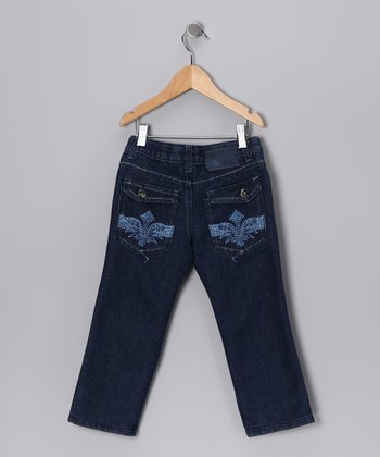 Coney Island Kids Dark Wash Distressed Jeans - Toddler & Boys