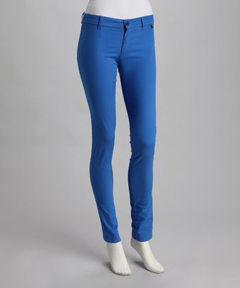 Royal Blue Skinny Pants