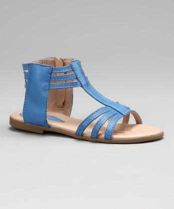 Contramao Medium Blue Sandal