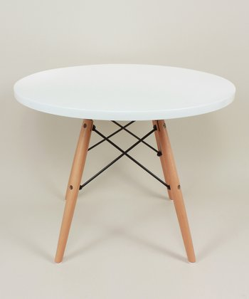 White Wood Kids' Table