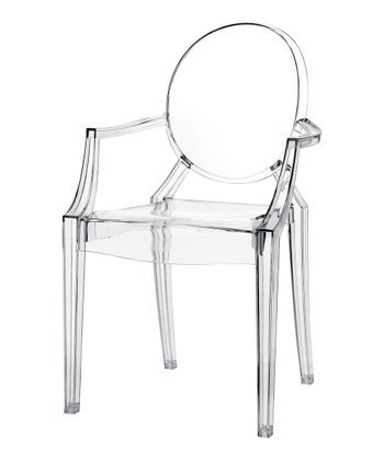 Clear Casper Kids' Chair