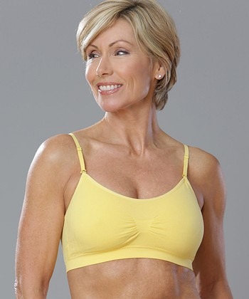 Lemon Seamless Wireless Bra - Women