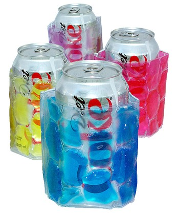 Pastel Colored Insulated Can Koozie Set