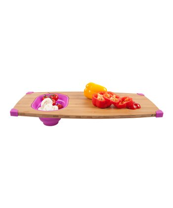 Magenta Over-the-Sink Cutting Board