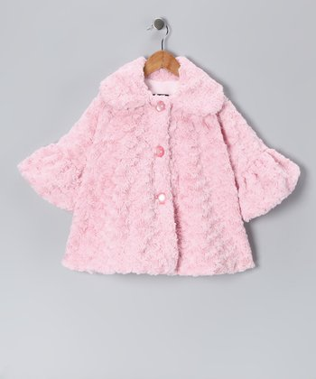 Pink Twist Sweet Pea Bubble Coat - Infant, Toddler & Girls