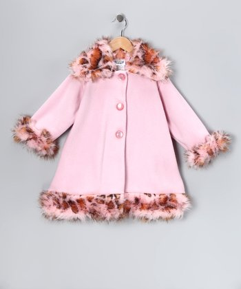 Pink Sweet Pea Coat - Infant & Toddler