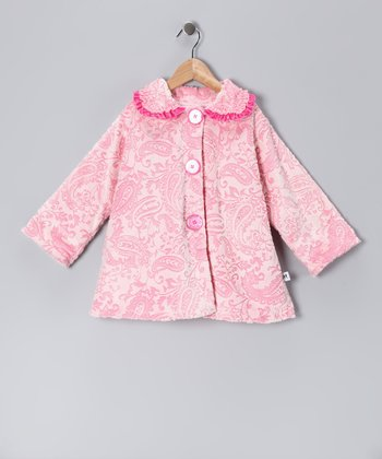 Pink Paisley Sweet Pea Coat - Infant & Toddler