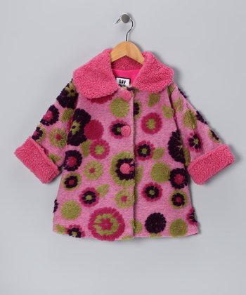 Pink & Berry Mum Sweet Pea Coat - Infant & Toddler