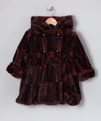 Corky's Kids Red Mary Jayne Coat - Infant, Toddler & Girls