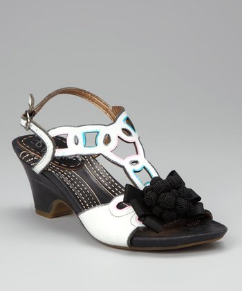 Black & White Yuma Sandal