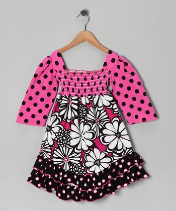 Pink Mummy Smocked Dress - Infant, Toddler & Girls