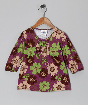Purple Zoology Tunic - Toddler & Girls
