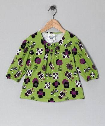 Green Funtime Tunic - Infant & Toddler
