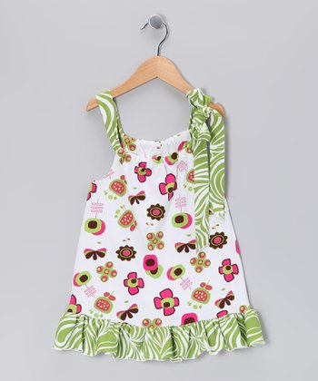 Green Summertime Swing Tunic - Toddler