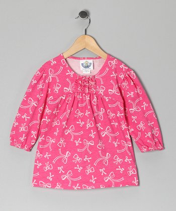 Pink Bow Tunic - Infant, Toddler & Girls