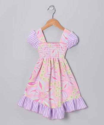 Pink Paradise Smocked Dress - Infant, Toddler & Girls