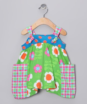 Green Garden Trail Jumper - Girls