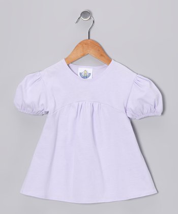 Lavender Babydoll Top - Infant, Toddler & Girls