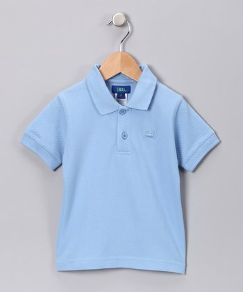 Light Blue Polo - Infant, Toddler & Boys