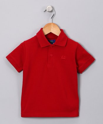 Red Polo - Infant, Toddler & Boys